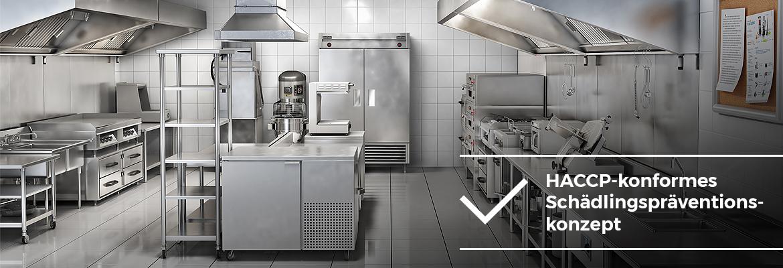 Gastronomie - HACCP-konformes Schädlingspräventionskonzept - AML Schädlingsbekämpfung