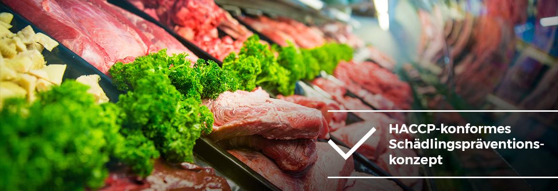 Lebensmittelbetriebe - HACCP-konformes Schädlingspräventionskonzept - AML Schädlingsbekämpfung